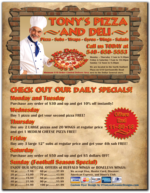 Nashville TN Business Flyer Design